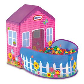 Little Tikes Playhouse Tent - 20 Balls Included -