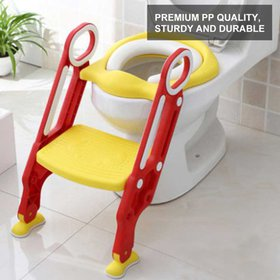Dilwe Portable Baby Toddler Soft Toilet Chair Ladd