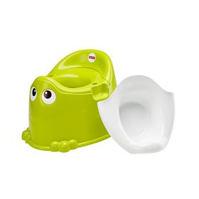 Fisher-Price Froggy Potty, Friendly face invites b