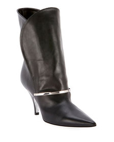 Givenchy Smooth Leather Booties