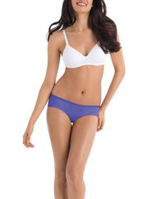 Hanes Women's cotton sporty hipster panties - 6+2