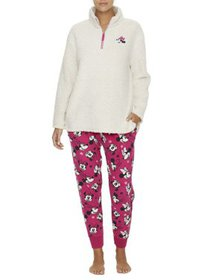 Disney Women's and Women's Plus Minnie Mouse Sherp