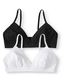 Hanes Women's Triangle Bra with Comfortflex Fit, 2