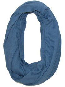 Size one size Women's Solid Infinity Loop Scarf wi