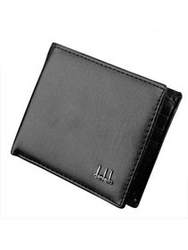 Mens Synthetic Leather Wallet Money Pockets Credit