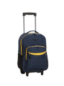 Rockland 17 Rolling Backpack R01