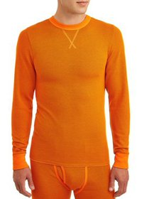 Hanes Men's Thermal Raschel Crew Neck Top