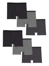 Hanes Men's Tagless Boxer Briefs 3+3 Bonus Pack