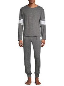 Hanes Men's and Big Men's 1901 Crew Top Jogger Pan