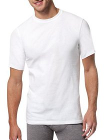 Men's Ultimate X-Temp 3+1 White Crewneck T-Shirt B