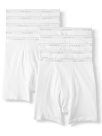 Hanes Big Men's SUPER VALUE 10 Pack Comfortflex Wa
