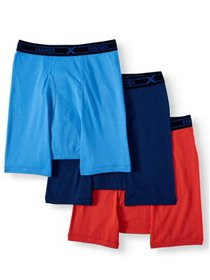 Hanes Men's Big and Tall Tagless Stretch Boxer Bri