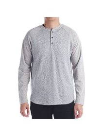 No Retreat Bill Men's Long Sleeve Henley Shirt