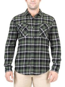 Mountain and Isles Men's Plaid Flannel Shirt