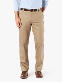Dockers Men's Signature Straight No Crease Khaki