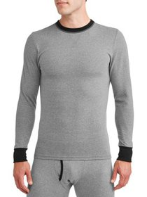 Men's 2-color Fusion Knit Crew Top