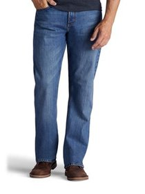 Wrangler Big Men's 5 Star Relaxed Fit Jean with Fl