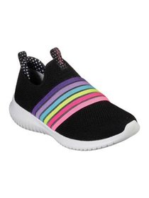Girls' Skechers Ultra Flex Brightful Day Slip-On S