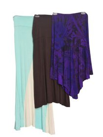 Love My Belly Multi Color 3 Pcs Maternity Skirts S