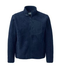 Lands' End Men's Sherpa Fleece Jacket