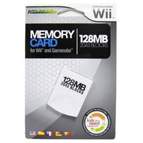 KMD 128MB Gamecube Compatable Memory Card for Nint