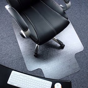 "Ktaxon 36"" X 48"" PVC Chair Mat Protector Floor Car"