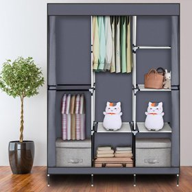 "Zimtown 71"" Closet Organizer Shelves System Clothe"