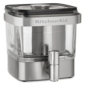 KitchenAid Brushed Stainless Steel Cold Brew Coffe