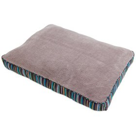 Aspen Pet Antimicrobial Dog Bed with Deluxe Pillow