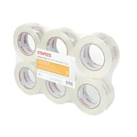 Staples® Moving & Storage Packing Tape, 1.88 x 109
