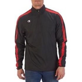 CHAMPION Mens Quarter-Zip Athletic Track Jacket