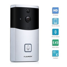 FLOUREON WIFI Video Doorbell, Smart Doorbell 720P