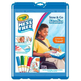 Crayola Color Wonder Stow And Go, 30 Page Coloring