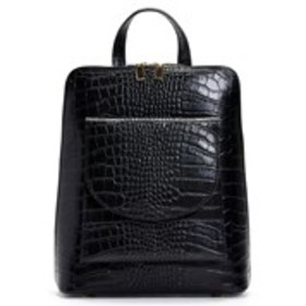 VALENTINA FIORE Made in Italy Croc Embossed Leathe