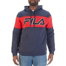Mens Fleece Logo Active Hoodie
