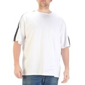 Big & Tall Cotton Shoulder Tape Short Sleeve T-Shi