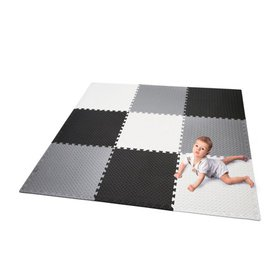 Portable Kids Play Mat Foam Floor Gym Patchwork fo on sale at Walmart