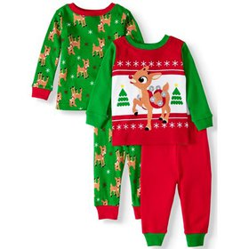 Rudolph the Red-Nosed Reindeer Baby Boys' Long Sle