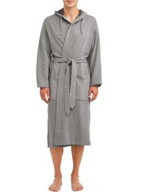 Hanes Men's 1901 Athletic Fleece Hooded Robe