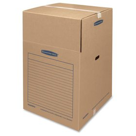 SmoothMove BankersBox Wardrobe Boxes, Large, 3 Cou