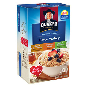 Quaker Oats Instant Oatmeal Variety Pack