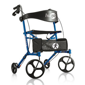 Hugo Sidekick Side-Folding Rollator Rolling Walker
