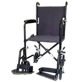 Karman 17 inch 19 lbs. Lightweight Transport Chair