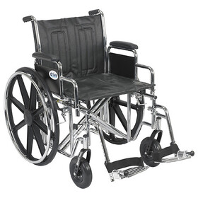 Drive Medical Sentra EC Heavy Duty Wheelchair with