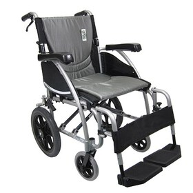 Karman 18in Seat Ergonomic Transport Wheelchair Si