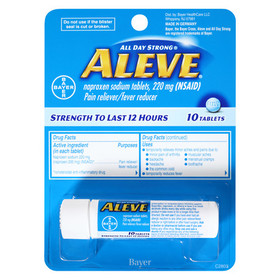 Aleve Pain Reliever/ Fever Reducer Tablets