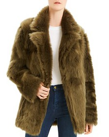 Theory - Toscana Reversible Shearling and Leather