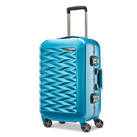 "Samsonite Fortifi 20"" Spinner in the color Aqua."