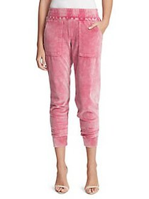 Jessica Simpson Ryland Snow Washed Ankle Joggers F