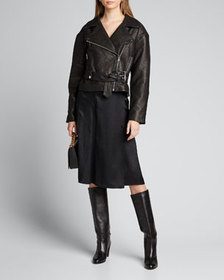 GRLFRND Charlie Leather Moto Jacket